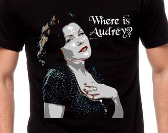 Mens & Women Where Is Audrey T Shirt Twin Peaks Shirt Twin Peaks The Return Audrey Horne Shirt David Lynch Sherilyn Fenn TH311