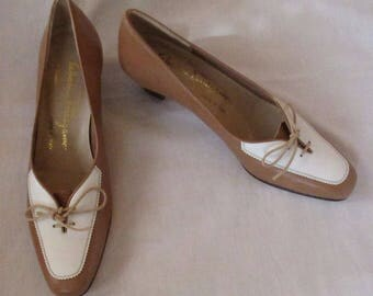 Pair of Salvatore Ferragamo Pumps, US Size 6 1/2 AAA