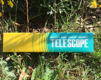 Vintage 3-Section Telescope Still in Box-NOS