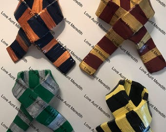 House Scarf Inspired Harry Potter Christmas Ornament