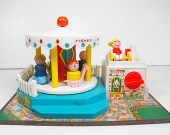Fisher Price Merry-Go-Round with Little People   (1157)