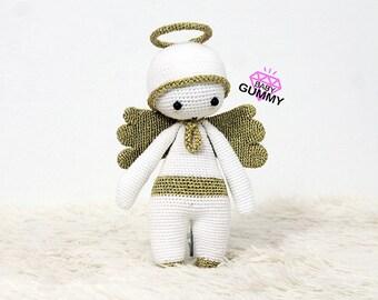 PATRÓN AMIGURUMI. Baby Gummy Angel. Patrón de crochet / crochet pattern / amigurumi. Navidad. Nuevo año. Árbol de navidad. Decoración