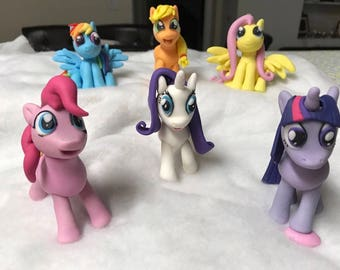 My Little Pony Fondant Toppers