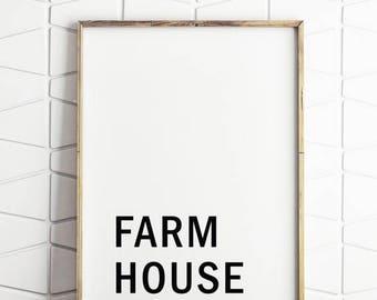 70% OFF SALE farmhouse signs, farmhouse printable, farmhouse digital art, farmhouse download, farmhouse wall decor, farmhouse wall art