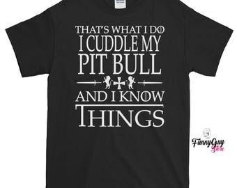 Pit Bull Lover Tee Pit Bull Tee Pit Bull T shirt Cool Pit Bull Tee Cute Pit Bull Tee Love Pit Bull Pit Bull Dog Tee Funny Tee Birthday Gift