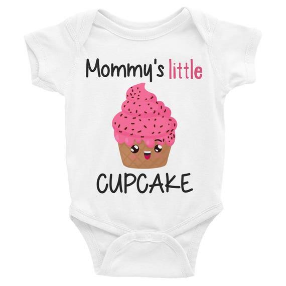 Cute baby Onesie | Mommy's Little Cupcake Infant Bodysuit | Cupcake onesie funny cute novelty