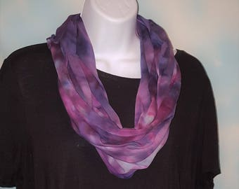 You're so square, but I don't care because you're a beautiful marble ice dyed tie dye infinity scarf with gorgeous colors