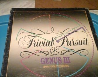 Vintage Trivial Pursuit Genus III Master Game