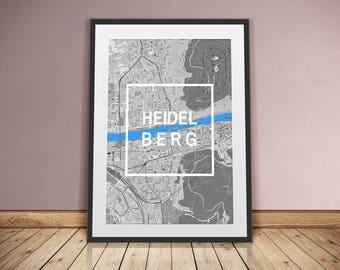 Heidelberg-framed City-digital printing