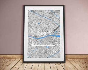 Dublin-framed City-digital printing