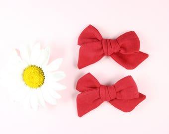 Mini Pinwheel Bow, Baby Bow Headband, Baby Girl Bow, Newborn Headband, Toddler Hair Clip, Girl hair bows, Girl hairbands, Pigtail Set
