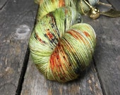 Dragon Egg - Sturdy Sock Hand Dyed  Sock Yarn Superwash Merino Nylon
