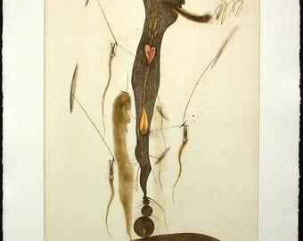 Untitled, around 1990. Aquatint by EVRU ZUSH