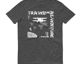 Travel and Adventure - Men's Short-Sleeve T-Shirt