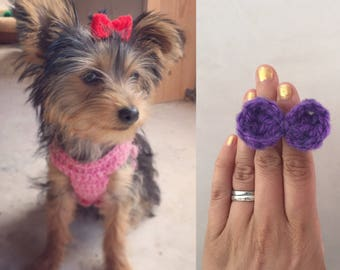 how to make dog grooming bows