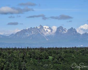 Denali National Park Mountain Scenic 8x10 Photo Alaska