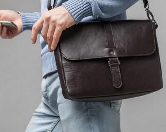 leather messenger bag brown leather laptop bag leather backpack shoulder bag for men laptop backpack mens leather bag leather briefcase men