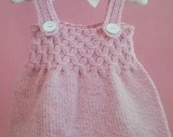 Smocked Dress 12, 18, 24 mos