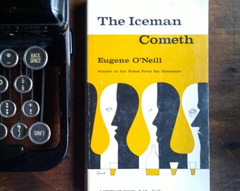 The Iceman Cometh - Eugene O'Neill, 1967 Vintage Paperback