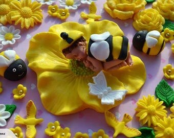 Bee Cake Topper