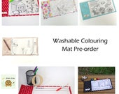 Noble Cubs Washable Colouring Mat - Pre order - Order by 4th Dec