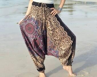 Harem pants,Harem Pants Women,Boho Pants,Trouser,Yoga Pants Baggy Pants Gypsy Pants Rayon Pants,Bohemian Pant,Hippie Pants.