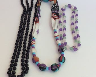 Vintage Necklace Trio