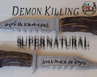 Demon Killing Knife - Supernatural - Dean Sam Winchester - Ruby