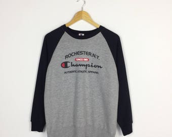 Rare!! Champion sweatshirt Rochester N.Y / small sz sweater