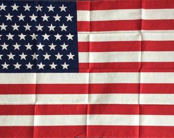 49 Star Flag, Vintage American Flag, Alaska Statehood
