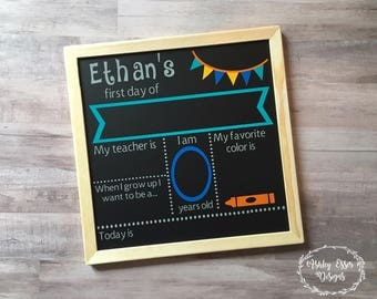 First Day of School Sign, First Day of School Chalkboard, School Sign, School Chalkboard, First Day of School, School, Back to School