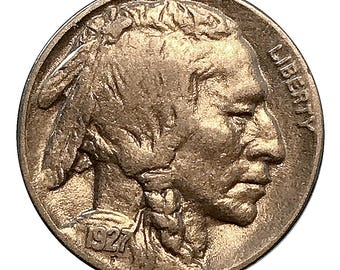 1927 D Buffalo Nickel - XF / EF / Extra Fine