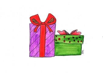 Birthday Card/ Christmas Card