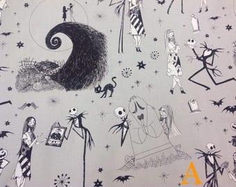 Disney Fabric — Tim Burton's The Nightmare Before Christmas Fabric from Camelot Fabrics (6 Options)