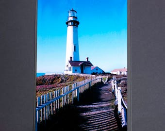 "Fine Art Photography ""Pigeon Point Lighthouse"" Archival Print"