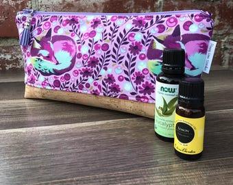 Perfect Essential Oil Pouch / Purple Fox Essential Oil bag