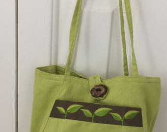 Knit or Crochet Project Bag  by Lantern Moon