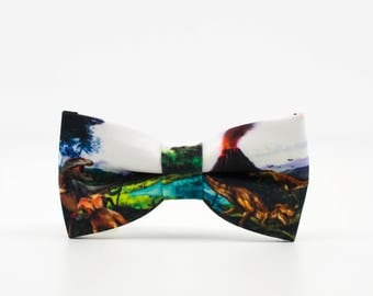 Children bow ties, Bowtie, Men Bow Tie, Kids Bow Tie, Dinosaur Bow Ties, Vulcanos Bow Ties, Wedding Bow Ties, Party favors, Gift for toddler