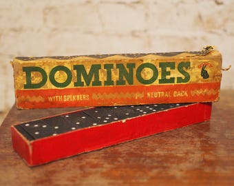 Vintage Domino Set by Goatoys