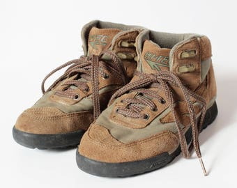 Vintage Women's Hi Tec Hiking Boots Mt Diablo - 90s Retro US Size 7 / 23.5 cm
