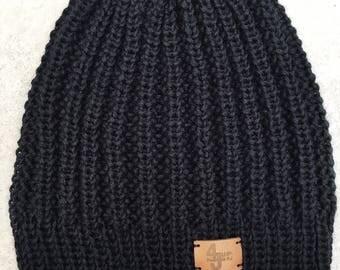 Knit hat (Merino cashmere-silk)