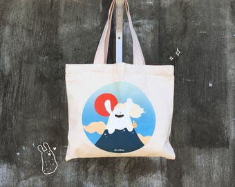 PLURK Canvas Bag Mt. Keke Rabbit
