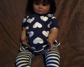 Price drop.....Stunning reborn toddler, Juan...(TV stand in doll for toddler Flora)