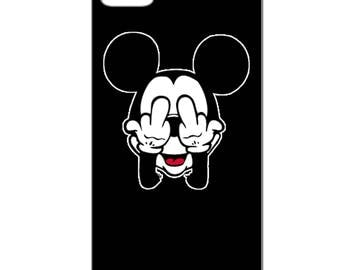 IPhone case - Bad Mickey - 3D Iphone 4 / 4s - 5 / 5 S - 5 c - 6 / 6 S - 6 more-7/8-7 more