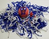 Kids Surprise SuperHero BathBomb-Natural Organic Handmade Kids Bath Bomb-Marvel SuperHero Figure-Avengers-Civil War Spiderman figures Inside