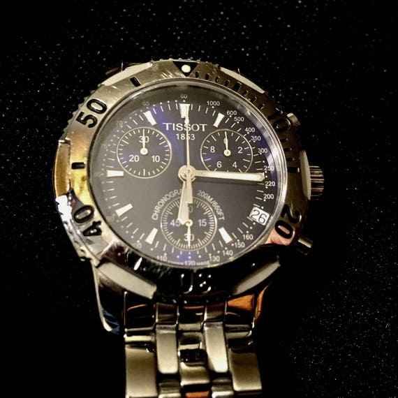 Tissot Chronograph WR 660ft Men's Watch