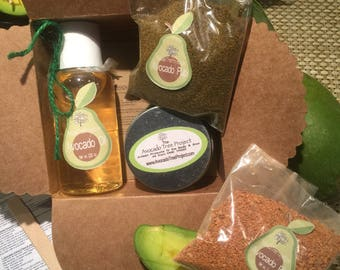 Make Your Own Avocado Skincare Products Kit - DIY KIT