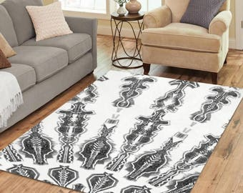 Area Rug 7' x 5' - Runes - +4 other sizes & 3 colors FREE Shipping