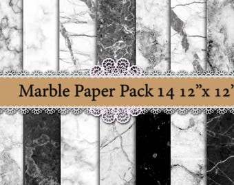 "White marble paper: ""MARBLE TEXTURE PAPER"" Marble backgrounds, Black and white marble,Scrapbook paper,Printable marble,Granite Texture Paper"