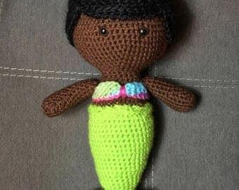 Mermaid; Crochet Mermaid; Doll; Crochet Doll; Gift for Her; Gift Ideas